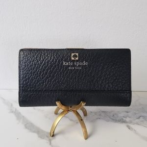 Black Kate Spade Cameron Street Snap Wallet